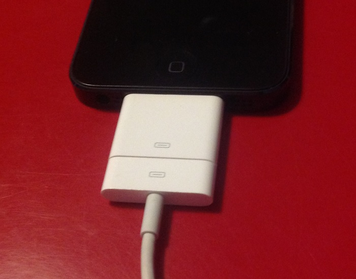 adaptateur chargeur iphone