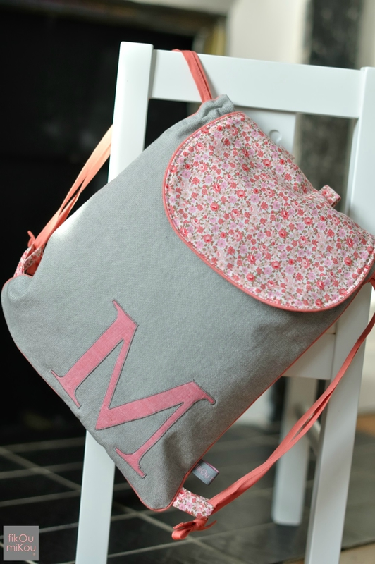 sac a dos fille maternelle