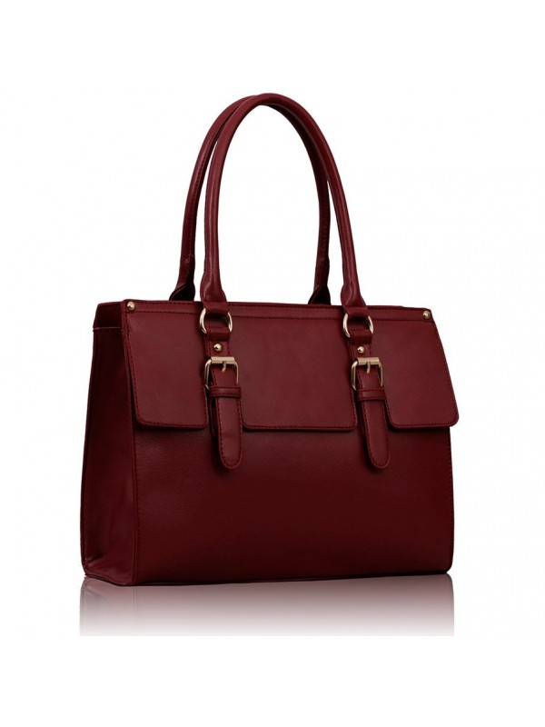 sac cartable marron
