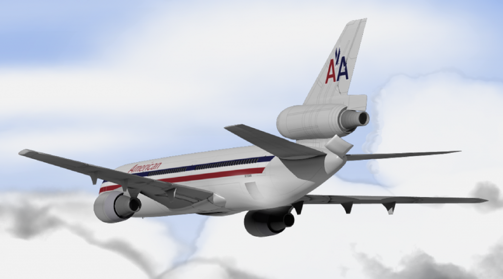 vol american airlines
